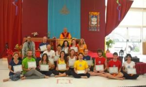 Yantra Yoga at Dzamling Gar