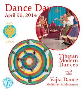 Worldwide Dance Day with Vajra Dance and Tibetan Modern Dances