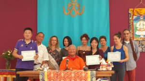 New First Level Vajra Dance and Yantra Yoga Instructors