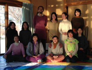 Jan 10-11, 2014, The Vajra Dance of Three Vajras for Beginners with Kyu, Kobe, Western Japan
