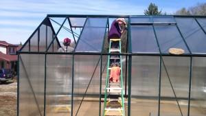 Finishing the Greenhouse