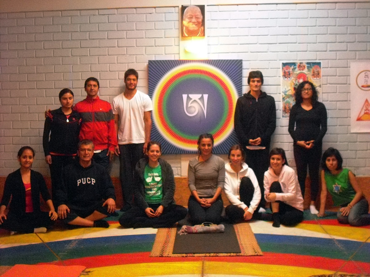 Yantra Yoga in Lima Peru with Jimena Piedra -  June, 2014