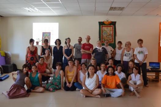 Tibetan Modern Dance Workshop in Milan, Italy