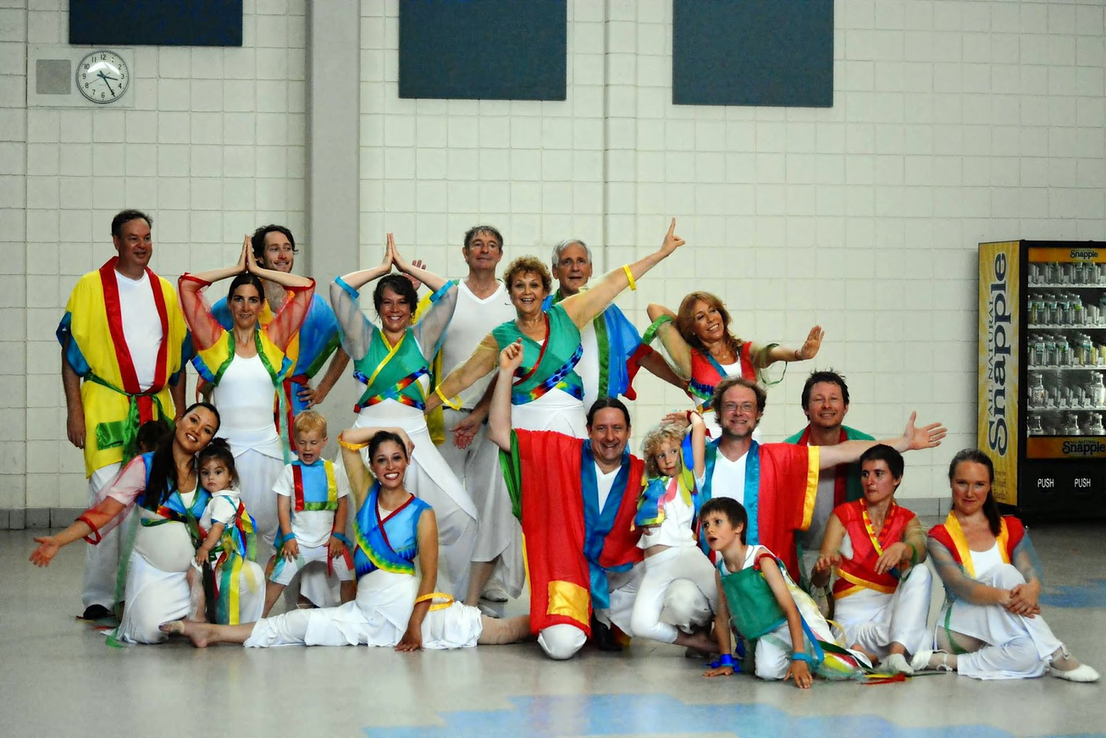 Tsegyalgar Dance Troupe performed July 13, 2014