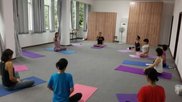 China yantra yoga course