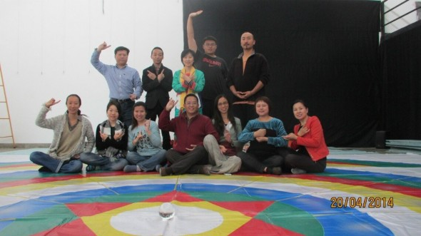 China Vajra Dance course