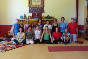 Introduction to Yantra Yoga is Spain