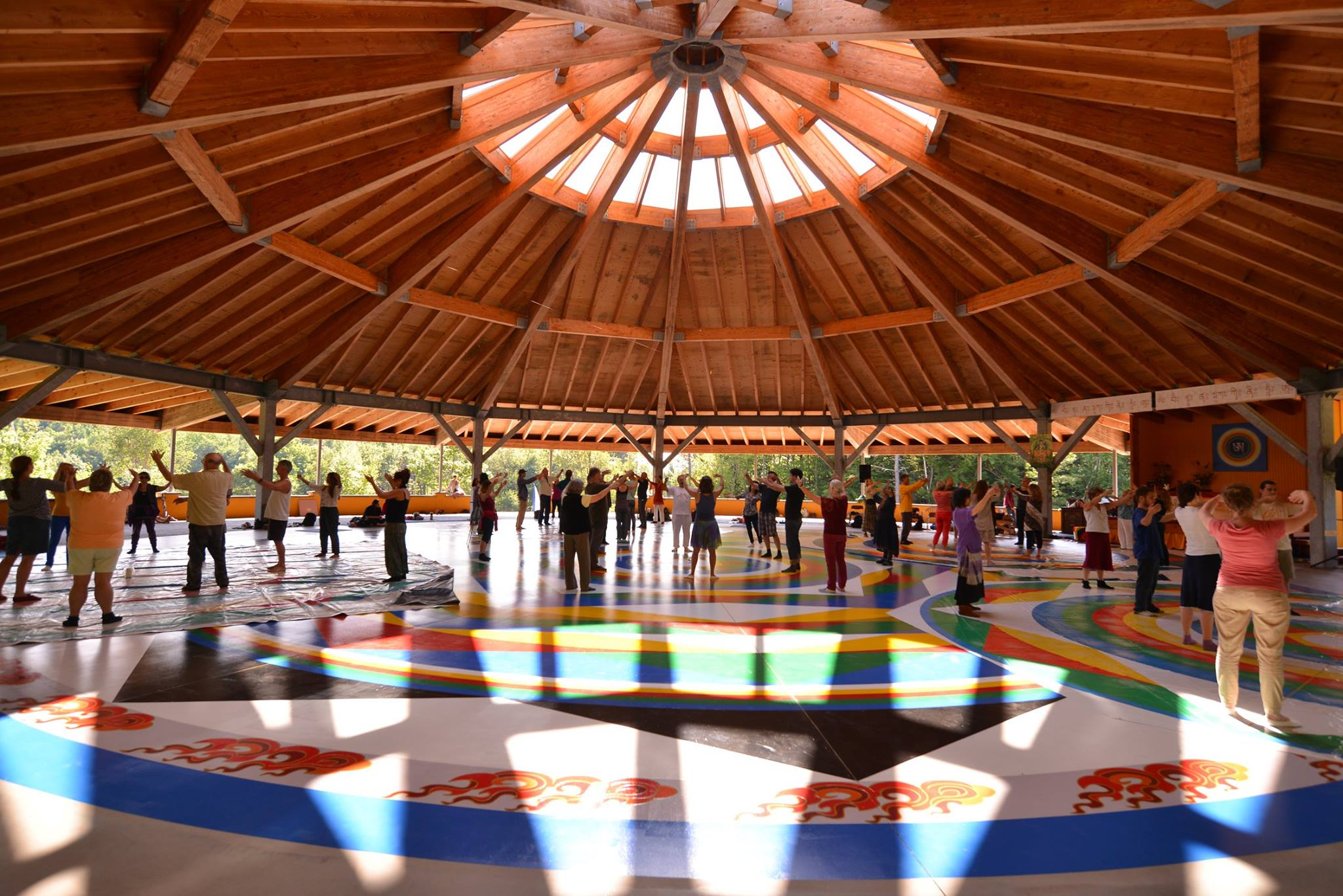 Dance of the 12 A's at the Universal Mandala Hall during the weekend