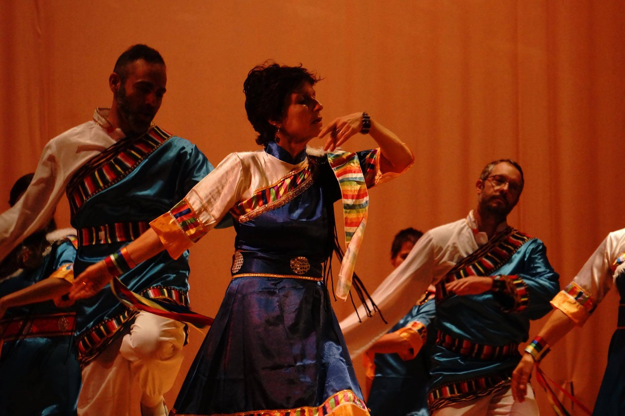 Khaita Dancers perform Saturday night July 12 at the Mohawk School