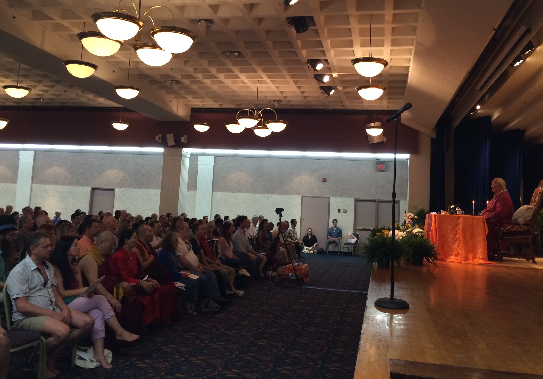 Teaching Retreat at St Vartan's Church, New York City from July 4-6, 2014
