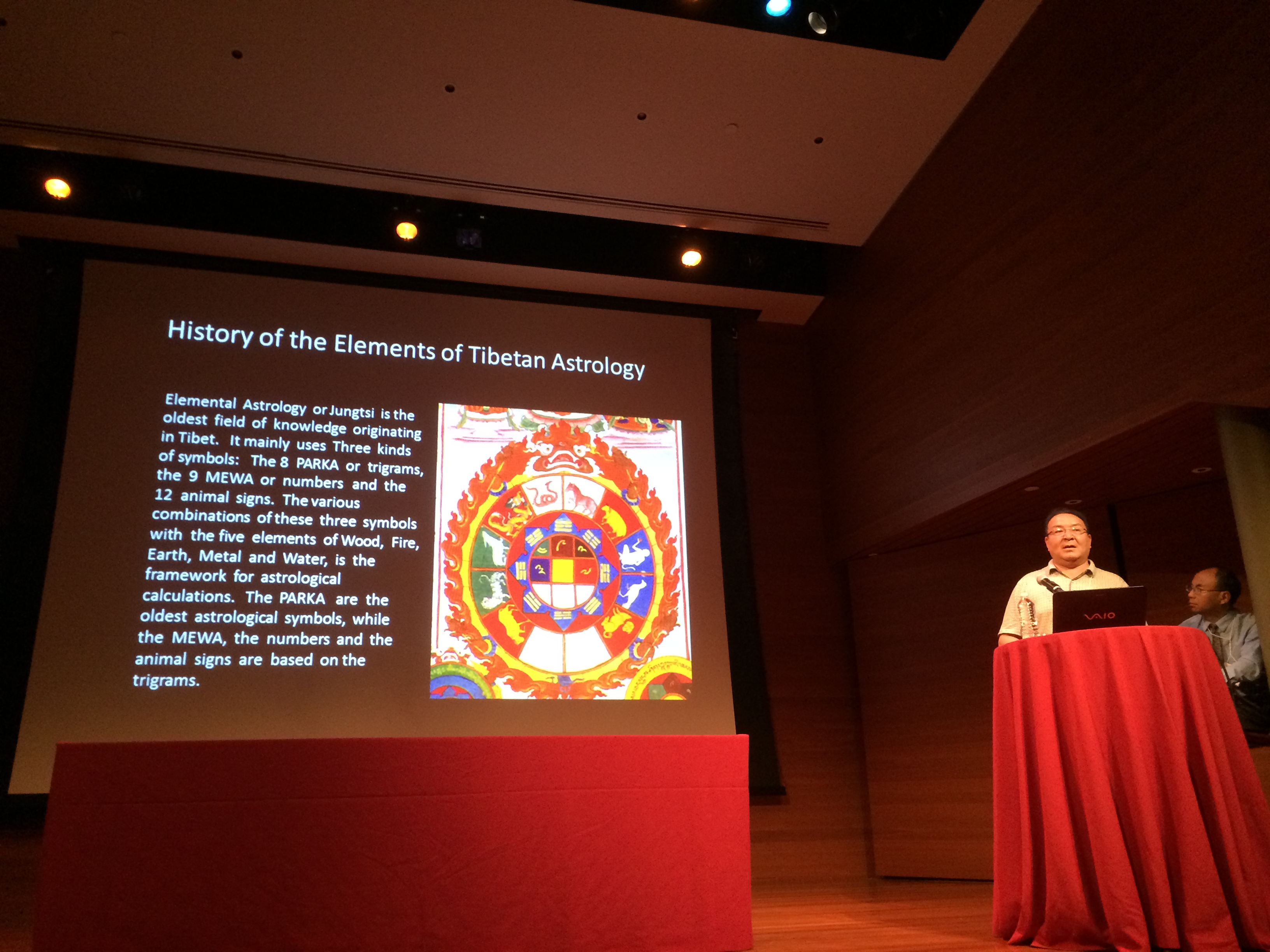 Dr. Thubten Phuntsok presents on the Origins of Tibetan Medicine and Astrology