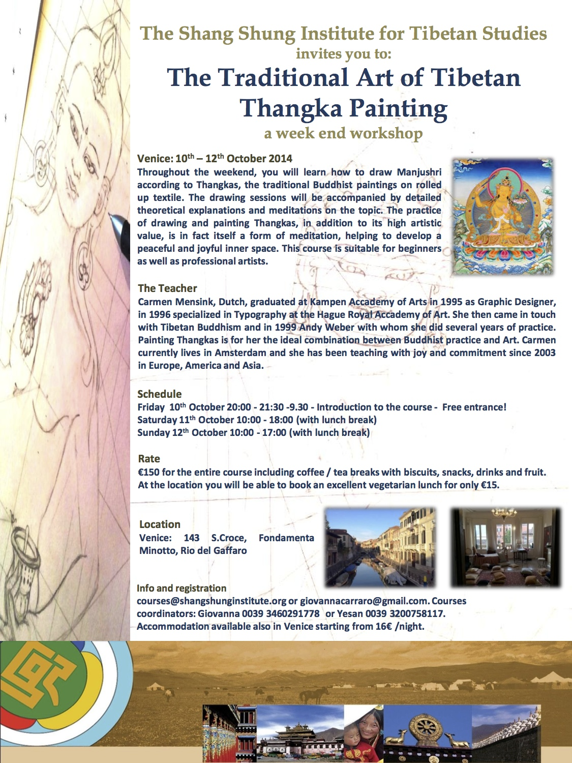 Thangka Course A3