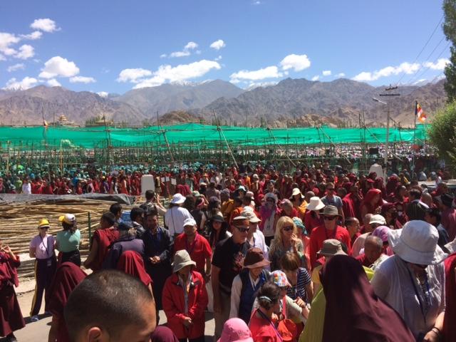 150,000 at Kalachakra