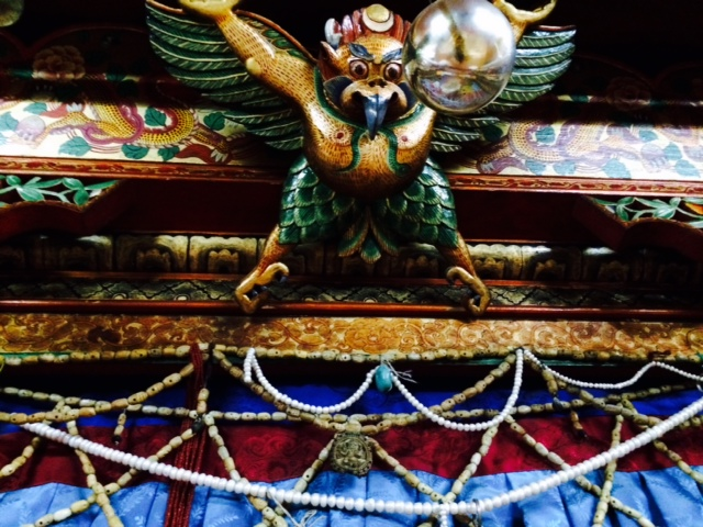 Garuda in the mirror