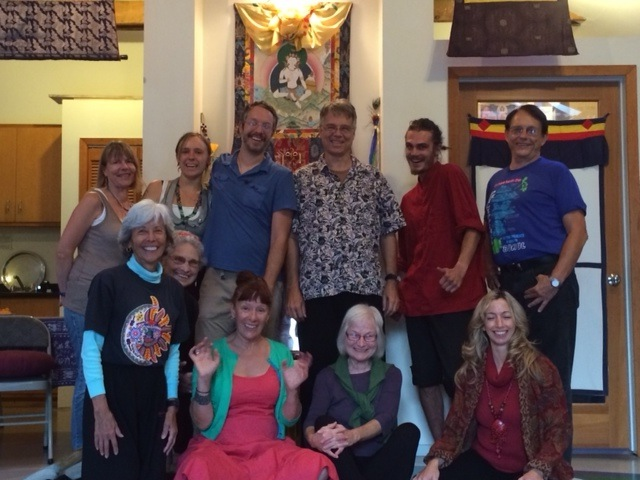 Dance of the Song of the Vajra with Bodhi Krause August 13-19, 2014 at Dondrubling, Berkeley California