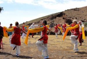 Khaita Dances at Rural Festival