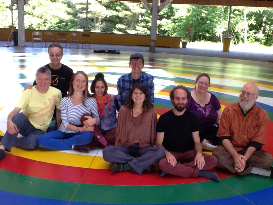 Vajra Dance Course, the Dance of the Six Spaces of Samantabhadra with Leela Whitcomb-Hewitt August 23 & 24, 2014 at the Universal Mandala on Khandroling, Buckland MA