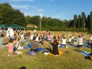 "Gyamtsholing at ""Yoga Insieme"""