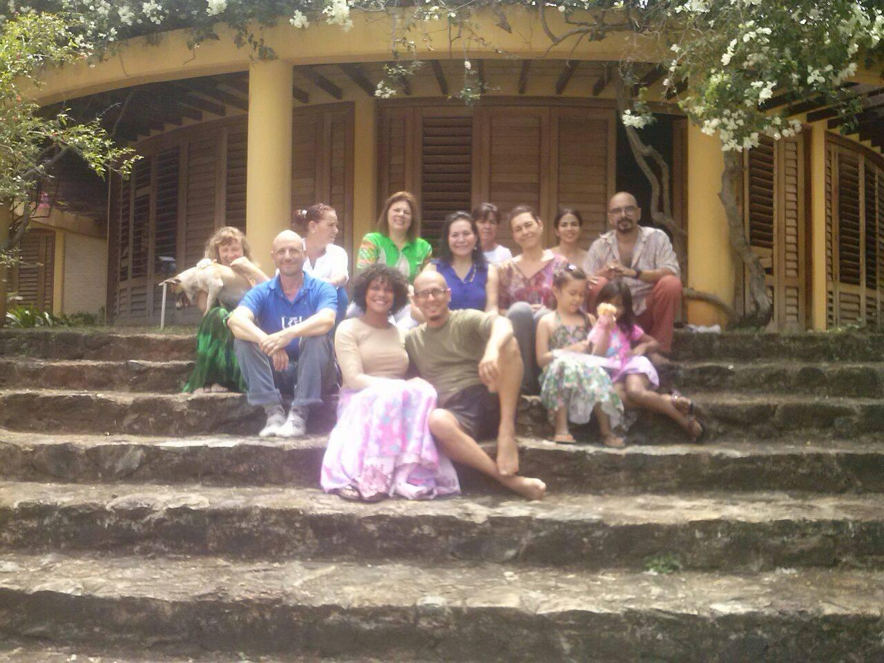 Vajra Dance Open Course Lead by Carmen Rivas Tashigar Norte, Margarita Island, Venezuela - October 2014