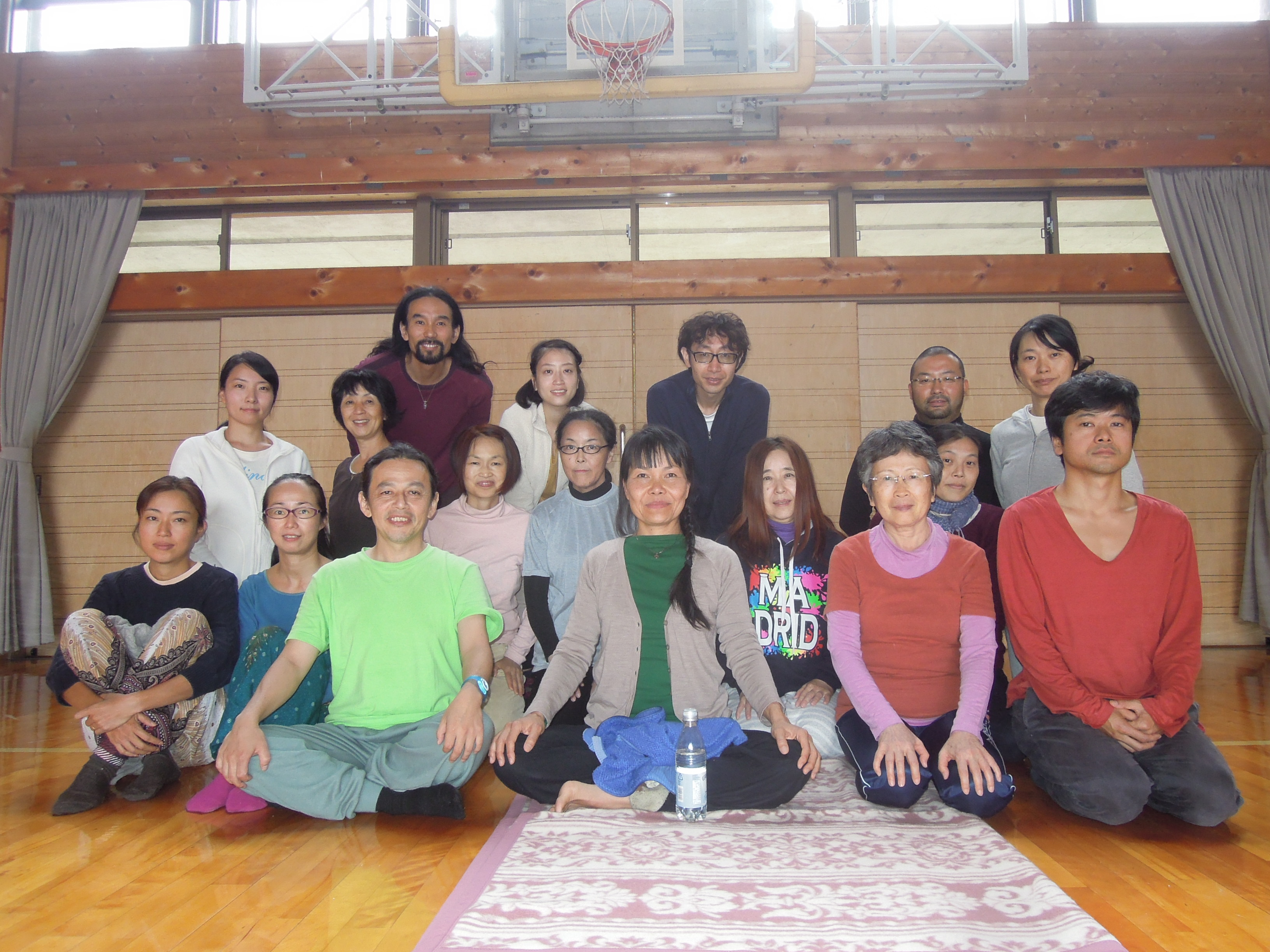 Yantra Yoga Course in Kyoto, Japan from October 4-5, 2014 with Oni McKinstry
