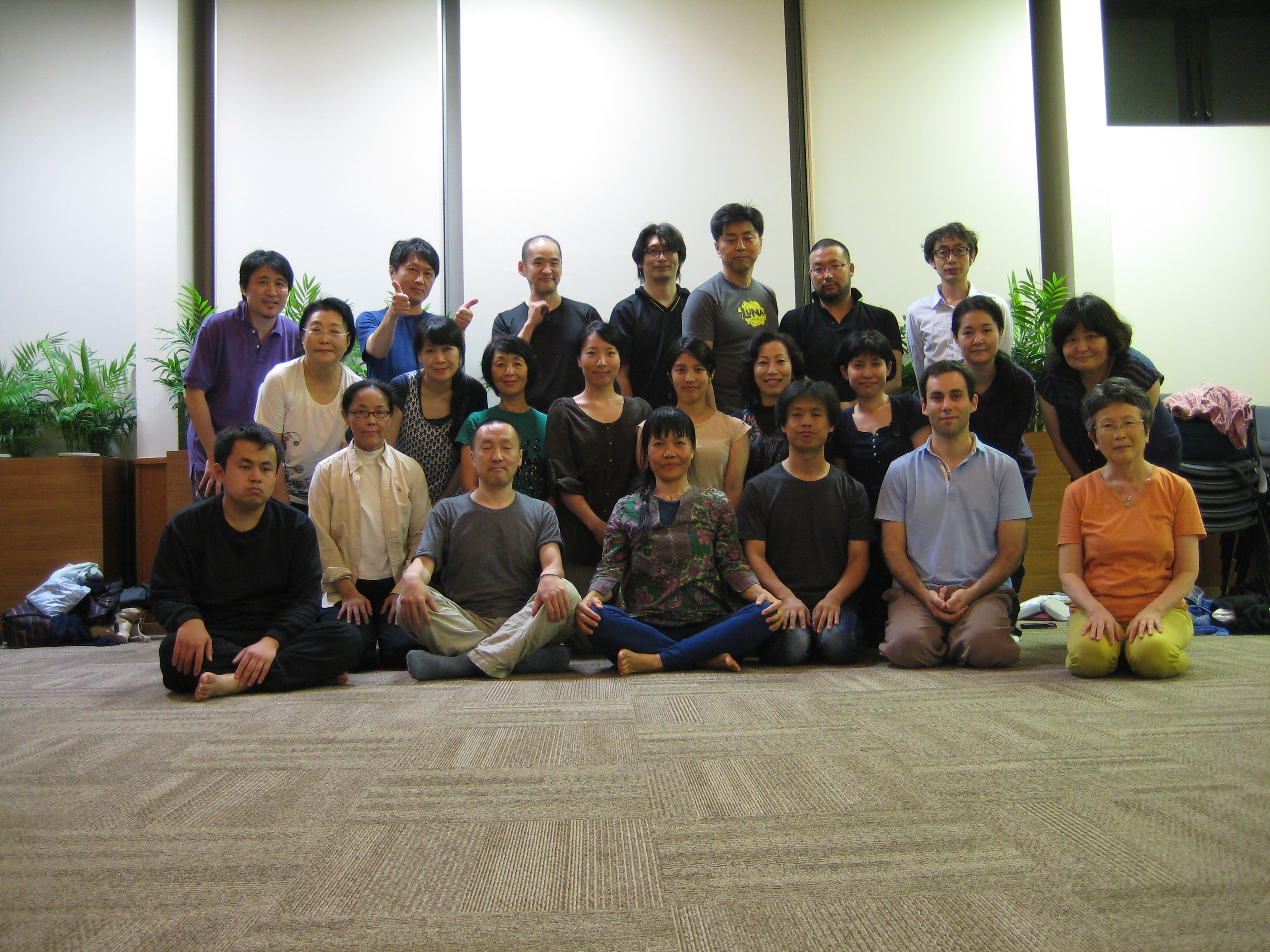 Yantra Yoga in Tokyo with Oni McKinstry September 27-28, 2014