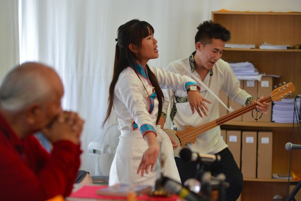 Tibetan Singers