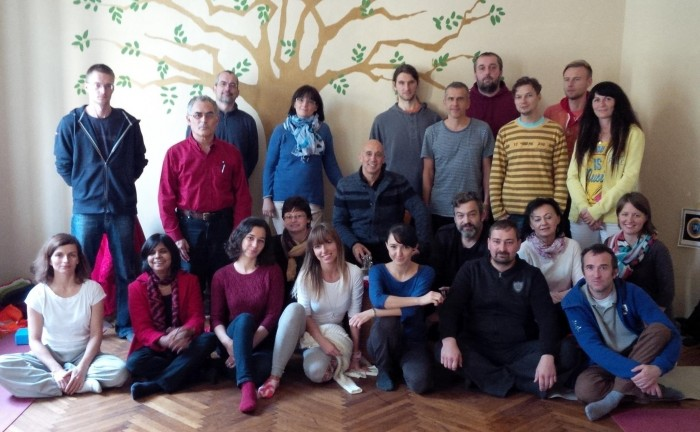 Dream Yoga with Michael Katz in Bratislava, Slovakia, October 24-26, 2014