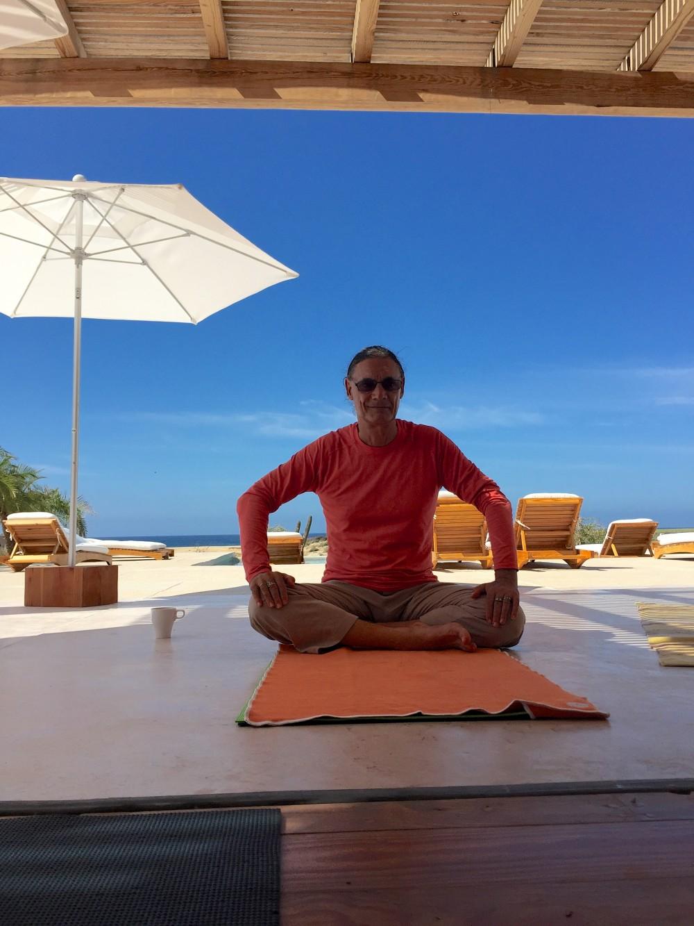 Fabio relaxing
