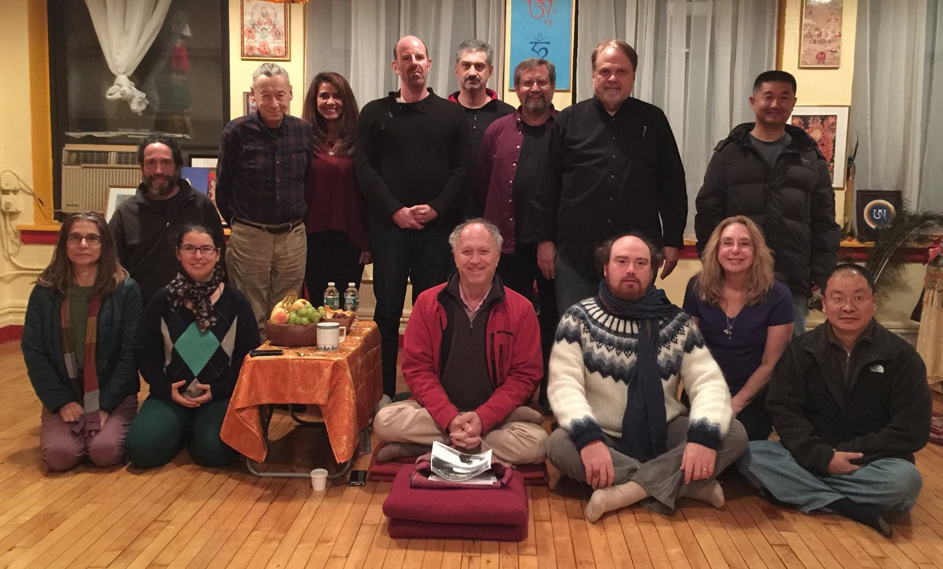 A Course in The  Four Applications of Presence, Seventh Lojong, and the Secret Rushen of Mind with Steve Landsberg at Kundrolling, NYC - November 8 and 9, 2014