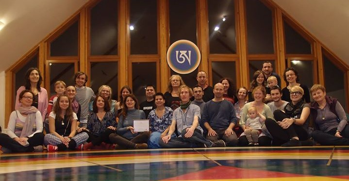 Song of Vajra Course with Rita Renzi which took place at Phende ling, Czech Republic,November 13-16, 2014. It was a wonderful retreat and it also coincided with one important anniversary and that was the 6th anniversary of Phende ling!