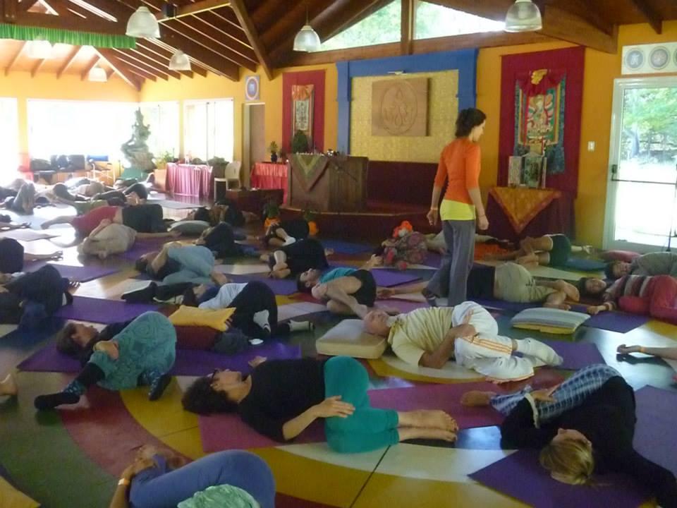 Yantra Yoga with Letitia Recepter at Tashigar South