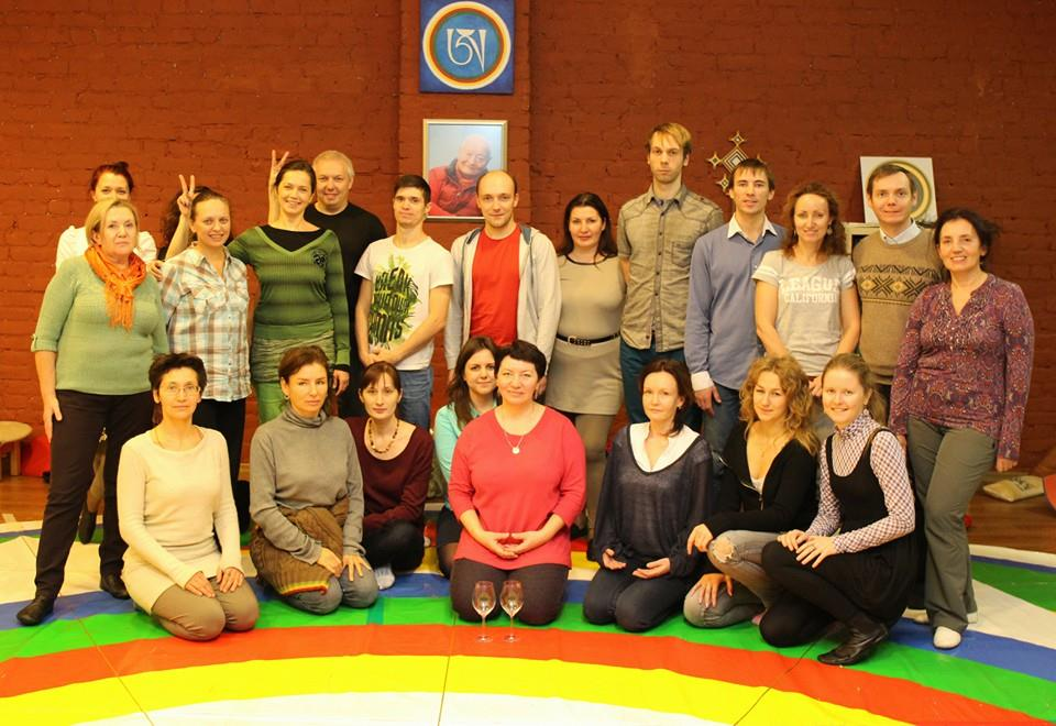 Retreat of the second part of the Dance of the Song of Vajra with Uliana Sokolova in St. Petersburg, Russia, December 15, 2014