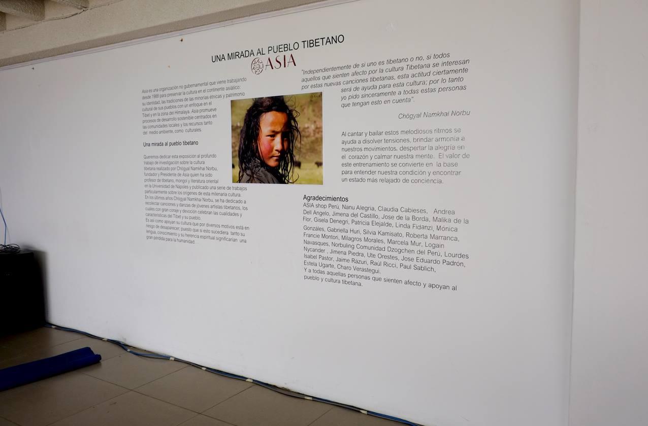 Left side of exhibit