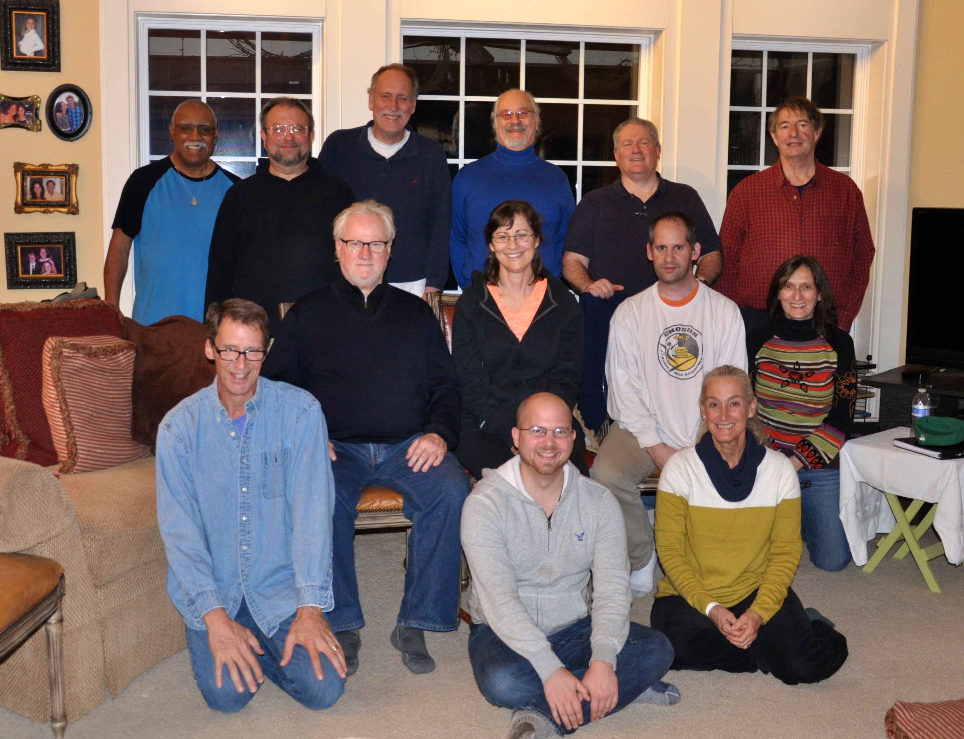 Santi Maha Sangha Base Level Retreat with Jim Valby in Atlanta, Georgia - December 6-9, 2014