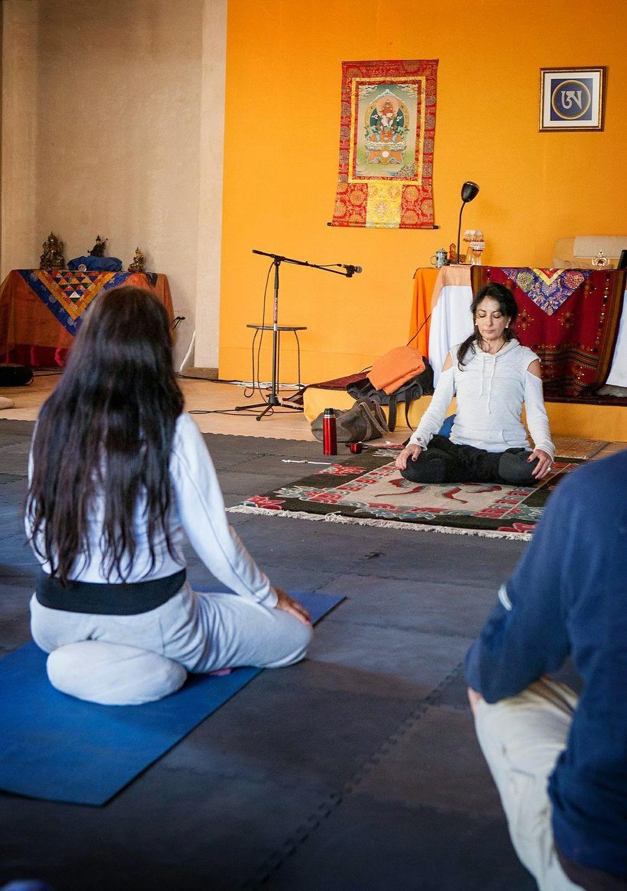 Yantra Yoga with Patrizia Pearl