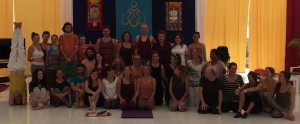 Yantra Yoga Supervision with Laura Evangelisti at Dzamling Gar