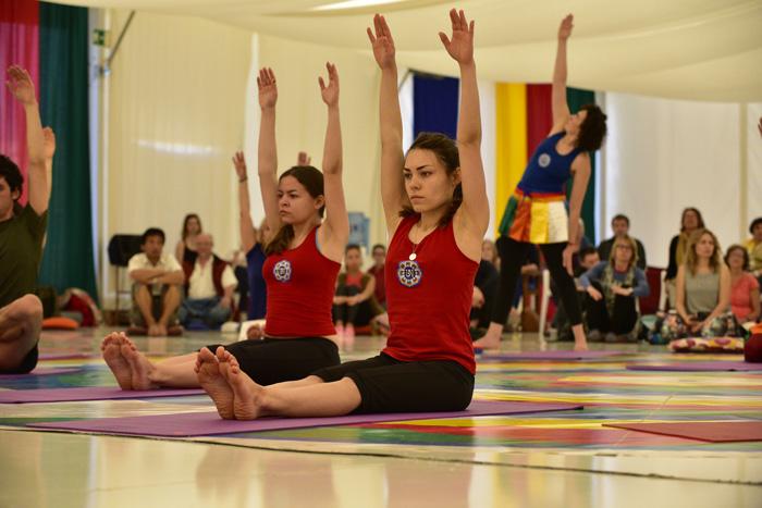 Yantra Yoga perfomance