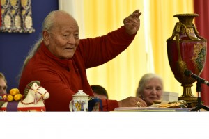 Continuing the Dzogchen Teaching