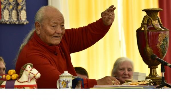 Continuing the Dzogchen Teaching