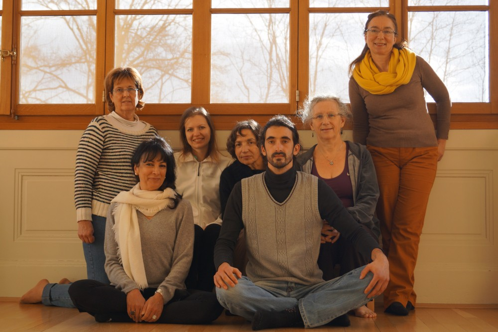 Kumbhaka course with Patrizia Pearl in Geneva, Switzerland on January 24-25,2015. The course was to train Kumbhaka with the first and second Pranayama and then teaching of the 3rd Pranayama of Humchen Kara.
