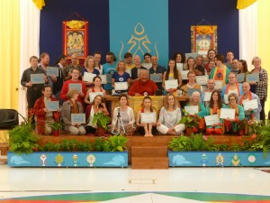 Santi Maha Sangha, Yantra Yoga and Vajra Dance Authorizations at Dzamling Gar, Tenerife