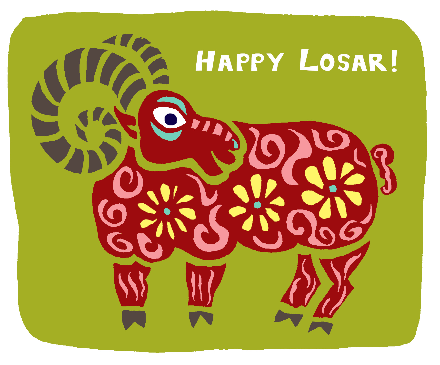 Sheep_Happy Losar