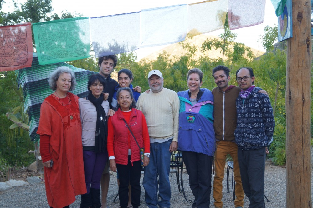 Three day retreat on Harmonious Breathing, December 27-29, 2014 at Tsegyalgar West, Baja. The last day was also a review and deepening of the eight Lungsang.