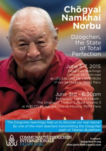 Retreat with Chögyal Namkhai Norbu in France