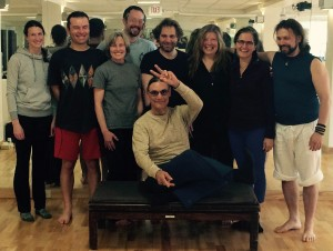 Yantra Yoga at Kripalu with Fabio Andrico