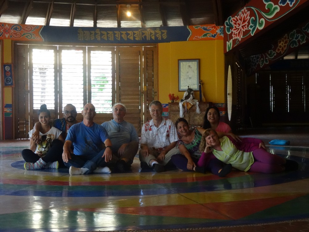 Deepening the Vajra Dance course with Bodhi Krause March 6-8, 2015 at Tashigar North