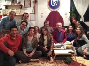 Santi Maha Sangha in Brazil with Steve Landsberg