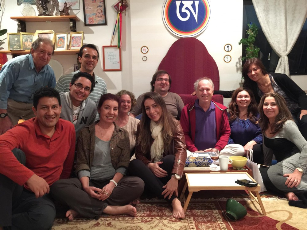 Sutra, Tantra and Dzogchen Retreat with Steve Landsberg April 25-27, 2015 in Sao Paolo, Brazil