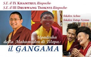 Khamtrul Rinpoche and Tsoknyi Rinpoche at Merigar