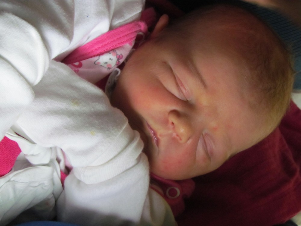 Barbora Zemanova born on May 2, 2015 at 8:56 am